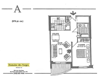 Laval r sidence pour personnes g es autonomes 1 chambre domaine des forges - Location appartement pour retraite ...