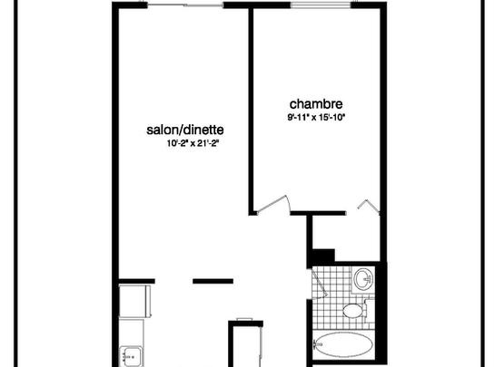 Residences tournesol ahuntsic cartierville for Achat chambre maison de retraite