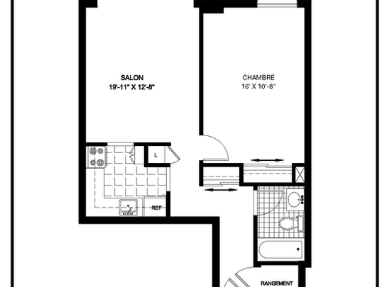 maison pour personne age photo residence du chapitre. Black Bedroom Furniture Sets. Home Design Ideas
