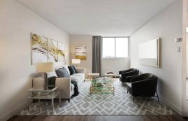 Appartement Studio / Bachelor a louer à Île-des Soeurs a Hi-Rise 4 - Photo 01 - PagesDesLocataires – L407154