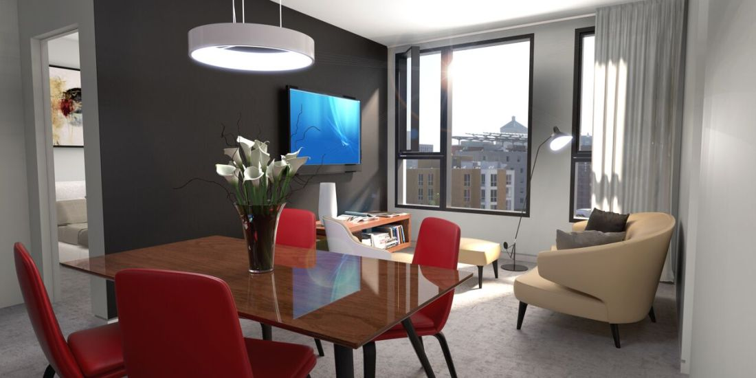 Condo 2 Chambres de luxe a louer à Montréal (Centre-Ville) a 1255 de Bullion - Photo 12 - PagesDesLocataires – L119809