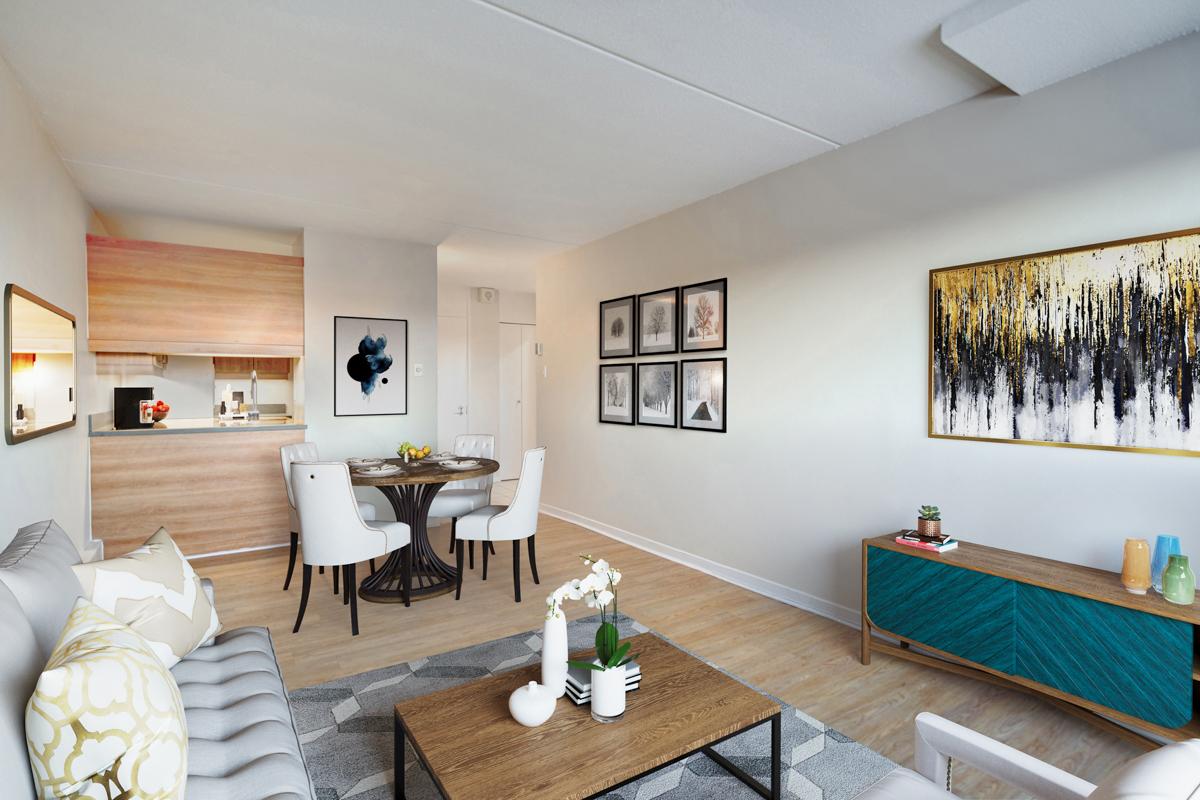 Appartement 1 Chambre a louer dans la Ville de Québec a Les Jardins de Merici - Photo 22 - PagesDesLocataires – L407121