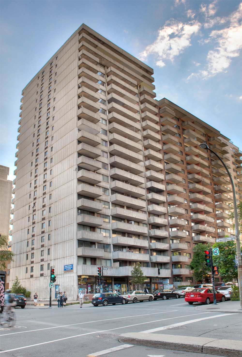 Montr al centre ville appartement 1 chambre louer for Location appartement montreal