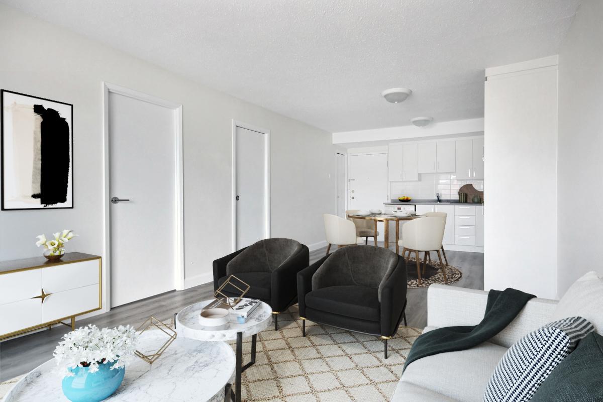 Appartement 1 Chambre a louer dans la Ville de Québec a Les Appartements du Verdier - Photo 01 - PagesDesLocataires – L407122